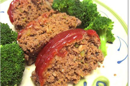 むかしながらの素朴なレシピのミートローフ Meatloaf