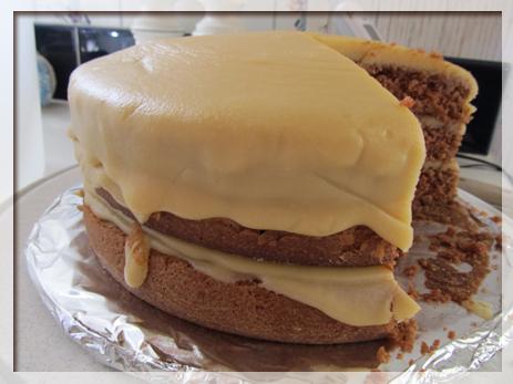 アメリカ キャロットケーキ