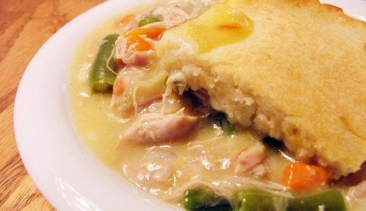アメリカ南部のおふくろの味「チキンポットパイ」の作り方 Chicken Pot Pie