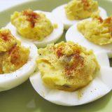 お手軽パーティメニュー デビルド・エッグ Deviled eggs