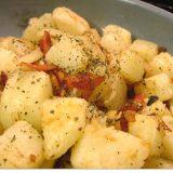ビールがよく合うポテト料理ガーリックポテト Garlic Potato