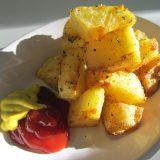 超カンタンぱくぱくポテトフライ の作り方!おやつにもビールにもぴったり Fried Potato