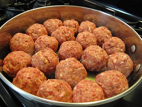 シチリアンミートボール作り方 レシピ