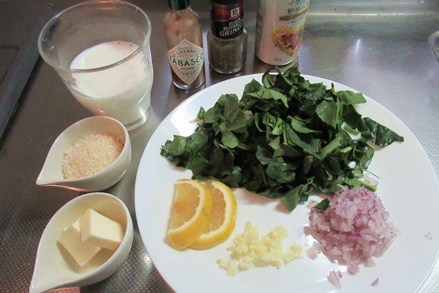 オイスターロックフェラーの作り方 レシピ 殻付きカキ料理